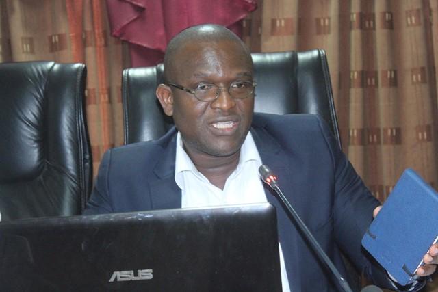 Yakouba Traoré, informaticien, concepteur de logiciel de gestion, et Directeur général de la société Oringe