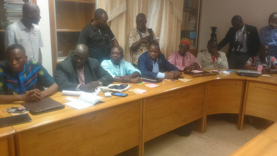 Quelques commissaires de la CENI, le 25 juillet 2016 - © Burkina24