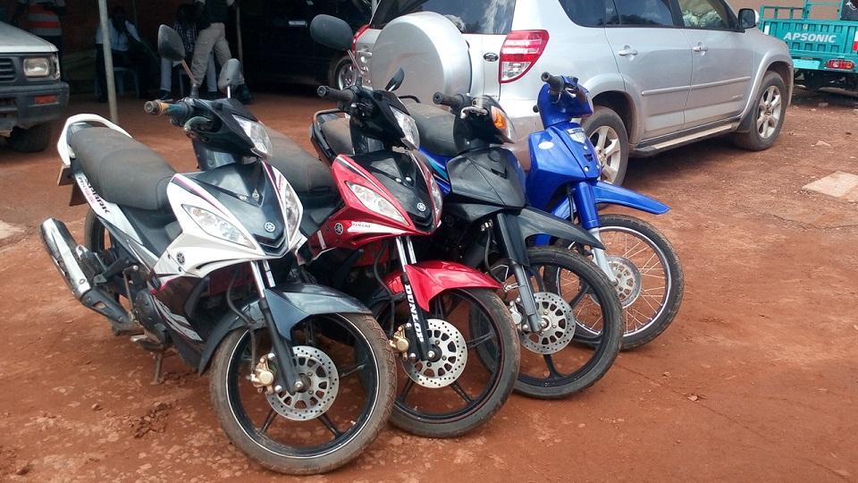 motos volées