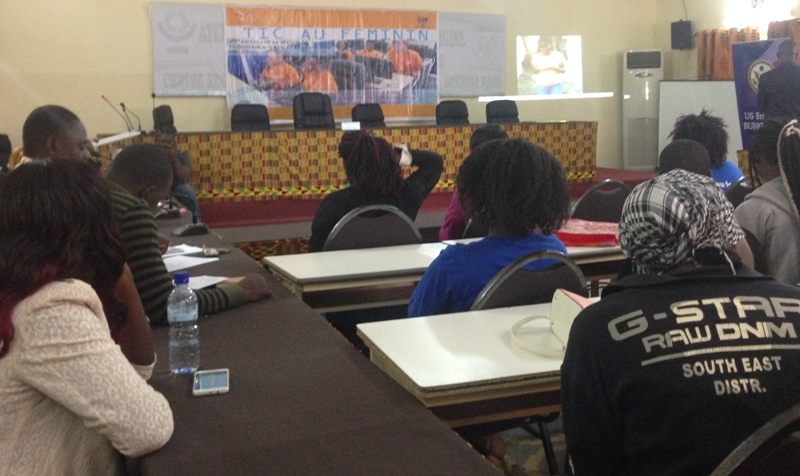 Cérémonie de clôture de la 2e édition de la session de formation aux NTIC et leadership des filles