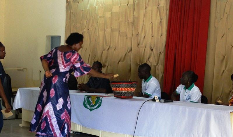 Collecte de fonds à la mairie de Komsilga pour la cause des orphelins par ACTS