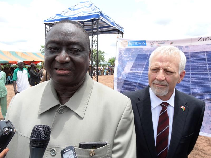 Elie Justin Ouédraogo, directeur général Windiga Energy
