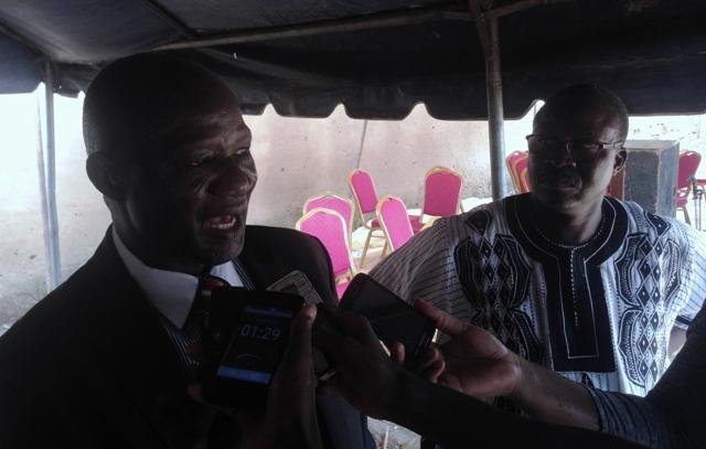 Pasteur, Dr Etienne Zongo, Secrétaire général de l'église des Assemblées de Dieu du Burkina (Micro)