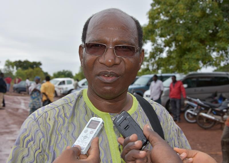 Kouliga Nikièma, Secrétaire général de la Sous-section UPC de Saponé. (© DCPM MATDSI)