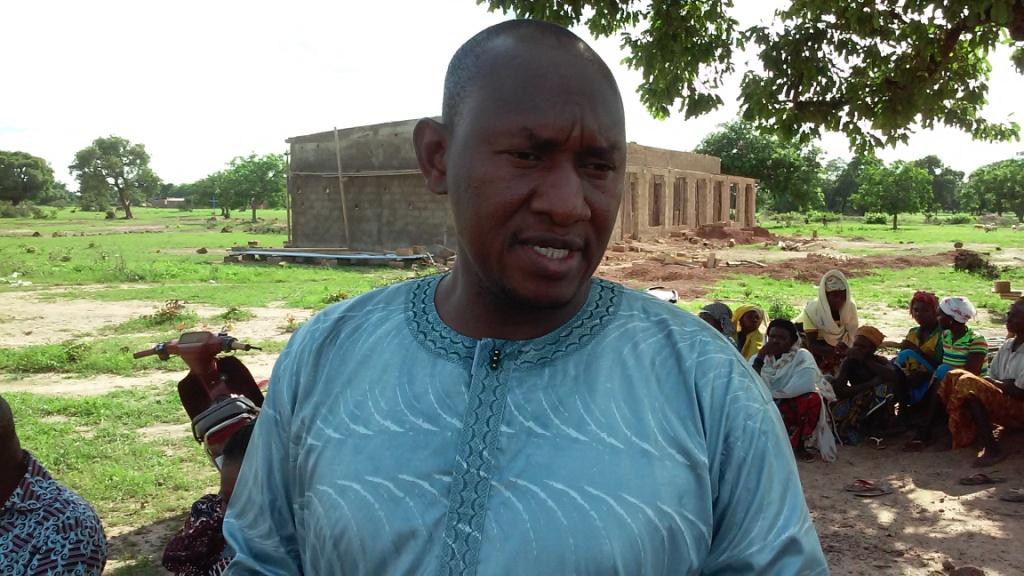 Le maire de Poa Daouda Bagué