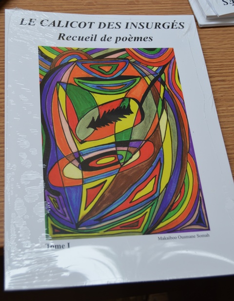 Le recueil de poèmes de Makaibo Ousmane Soma
