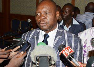 Magloire Somé, représentant président de la Haute Autorité de Contrôle des Importations d'Armes et de leur utilisation (HACIAU)