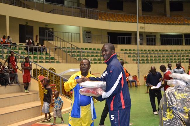 L'USFA avec son capitaine Wilfried Kini (droite) a été 3ème