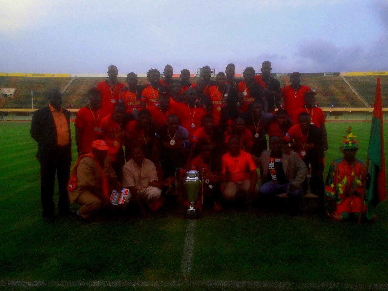 Le RCK remporte la Coupe du Faso 2016