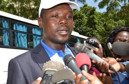Idrissa Konditamdé, coordonnateur de l'association