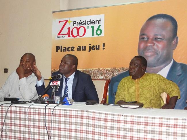 Avec son équipe de campagne, Kassoum Ouédraogo dit Zico veut remettre le football burkinabè aux footballeurs