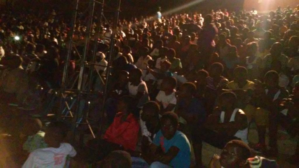 Le public de Koudougou n'a pas marchandé son déplacement