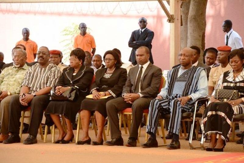 Cérémonie d'hommage à Amidou Touré à Ouagadougou (Photo : Ministère des affaires étrangères)