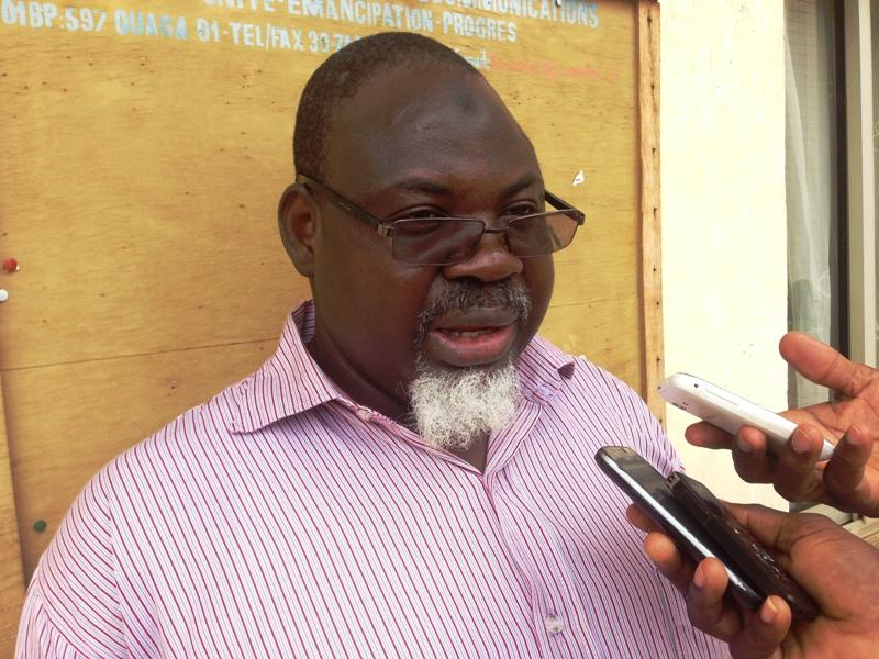 Soulémane So, Secrétaire général du SYNATEL.