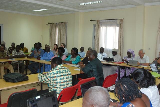 Un aperçu des participants venus du Benin, du Burkina Faso, du Sénégal et de la France