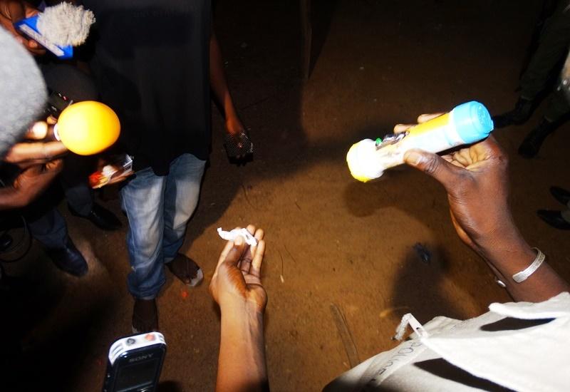 Un citoyen surpris avec du canabis. Il a affirmé l'avoir pris pour tenir le coup après l'annonce du décès de sa soeur de suite d'une fausse couche © Burkina24