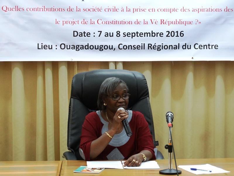 Aminata Kassé, représentante résidente du NDI