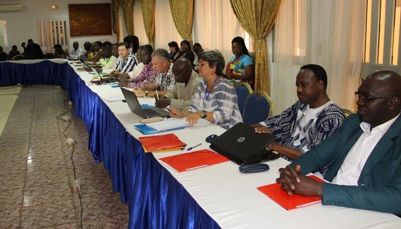 Une vue de quelques participants à la rencontre sous-régionale de Ouagadougou.