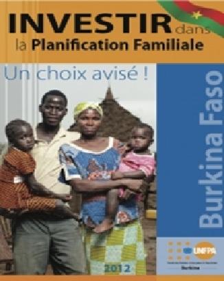 Affiche encourageant la planification familiale au Burkina Faso, UNFPA