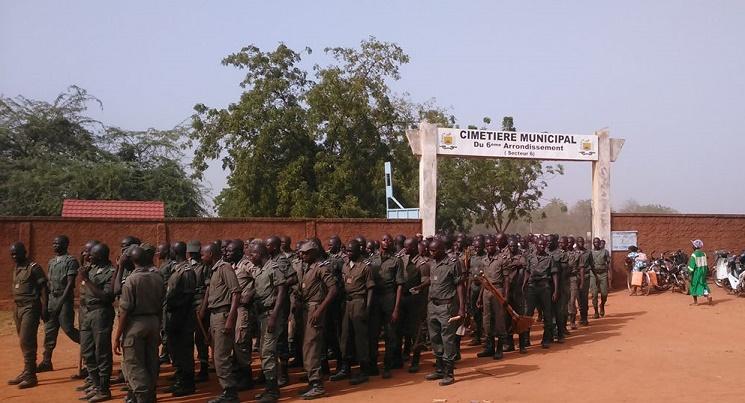 1 160 élèves de l'école nationale de police ont prêté main forte pour le nettoyage