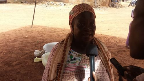 Korotoumou Gariko, secrétaire à l'organisation des femmes à la Confédération paysanne du Faso