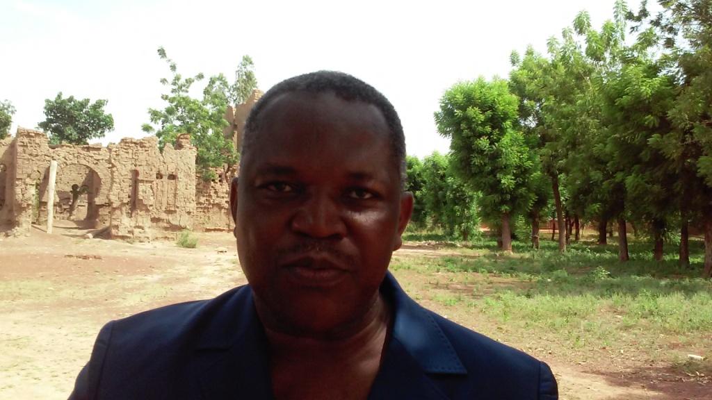 Bertrand Kaboré, candidat à la présidence de la FBF