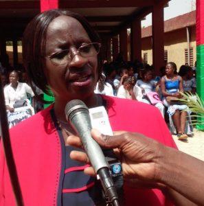 Directrice fondatrice de l'école Ramata Ilboudou