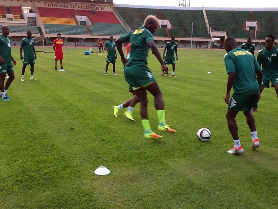 Hormis Daouda Diakité absent pour des raisons de blessure, les autres joueurs se portent bien