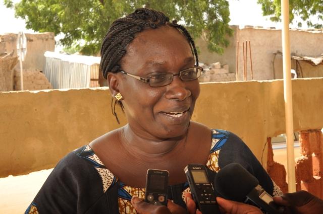 Evelyne Ouédraogo est secrétaire en formation à Dori.