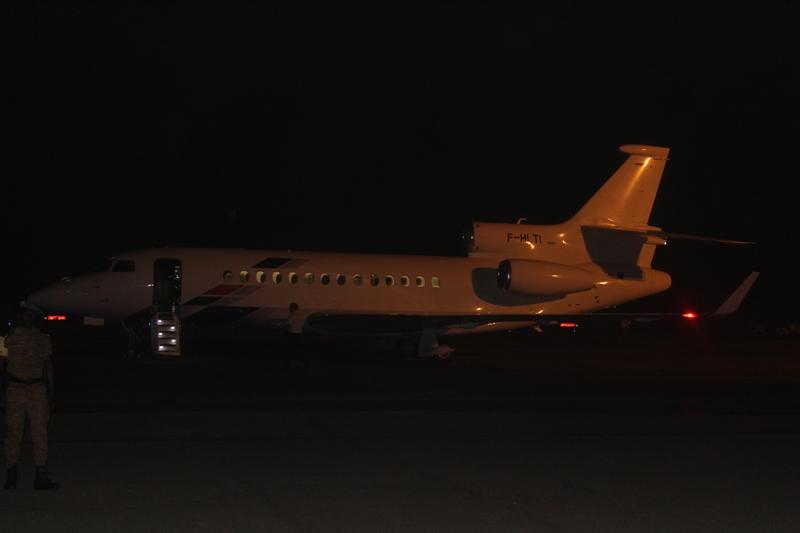 L'avion qui a amené le Président du Faso