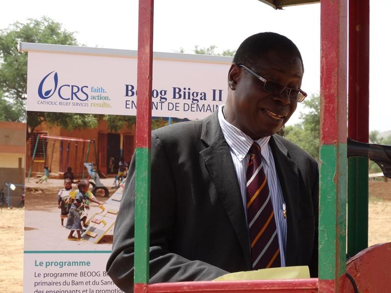 Moussa Dominique Bangré, représentant résident de Catholic Relief Services © Burkina24