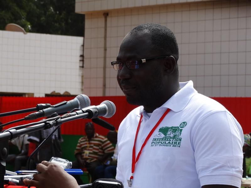Sya Frank, représentant des parents des victimes © Burkina24