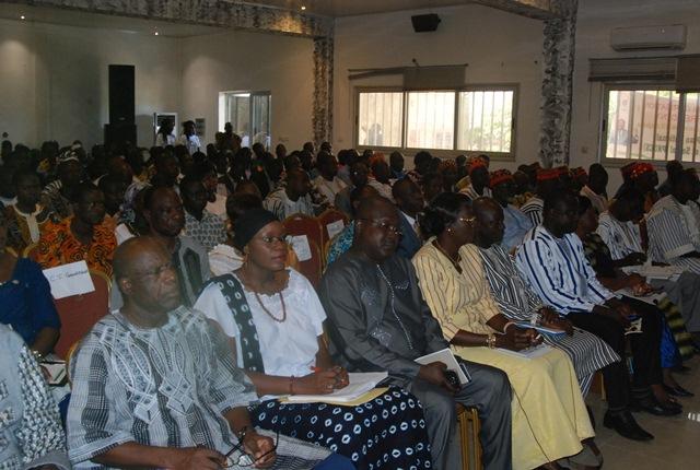 Les participants lors de la rencontre