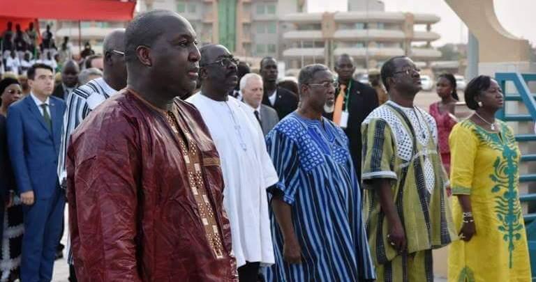 Zéphirin Diabré était présent. (Photo : MATDSI)
