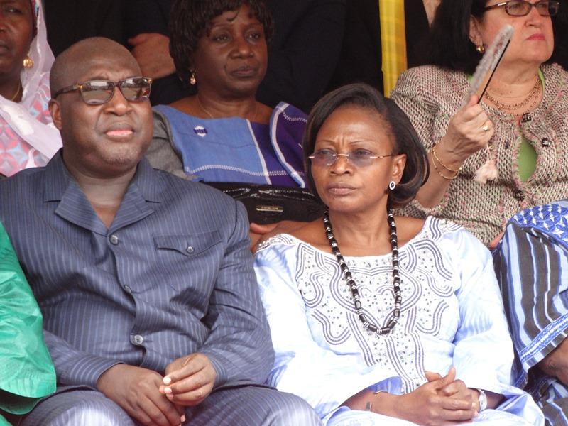 Zéphirin Diabré, CFOP à la cérémonie d'hommage aux martyrs lors de l'AN II de l'insurrection d'octobre 2014 et du putsch manqué de septembre 2015 © Burkina24