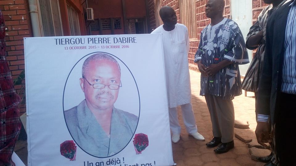 Un hommage est rendu à Pierre Dabiré pendant cette 18e édition
