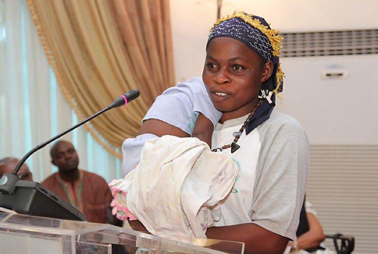 Le bébé miraculé sera pris en charge - © Dircom Présidence du Faso