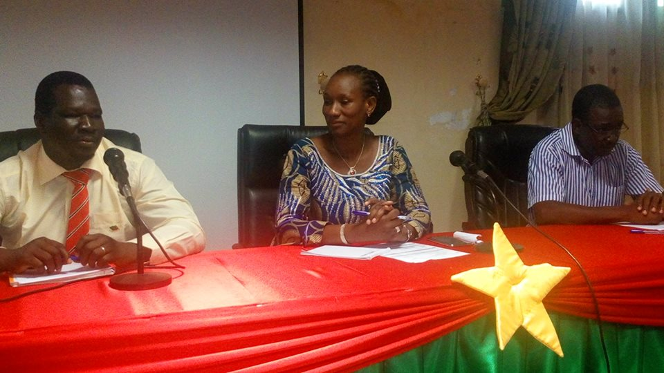 De la gauche vers la droite, Célestin Compaoré, Dr Ramatou Sawadogo et Ousmane Ouédraogo -  © Burkina24