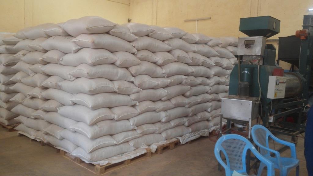 La production de 100 tonnes en 2008 à 5 000 tonnes aujourd'hui