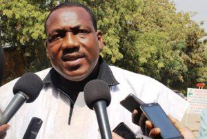 Dramane Konaté, président de la SGES