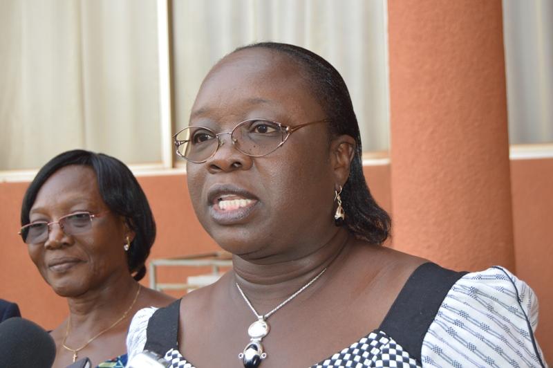 Edith Clémence Yaka, ministre déléguée en charge du budget