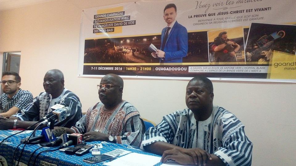 Les animateurs de la conférence de presse - © Burkina24