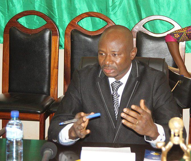 Dibi Millogo, président du comité d'organisation