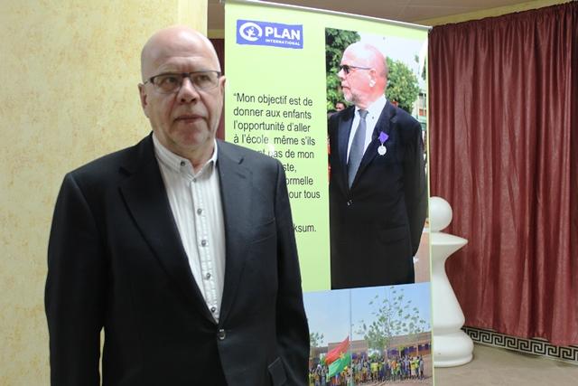 Per Tore Teksum, principal sponsor de Plan International Burkina faso