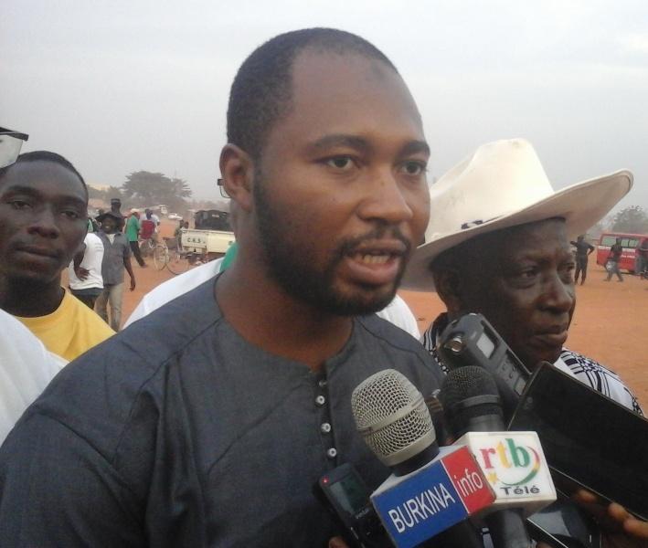 Rachide Nakoulma, président de la Fédération burkinabè de sport équestre