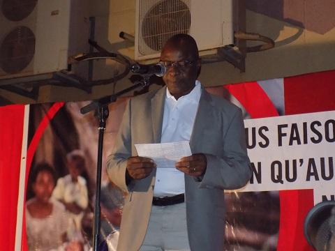 Salif Konaté, le représentant Pays de Save the Children