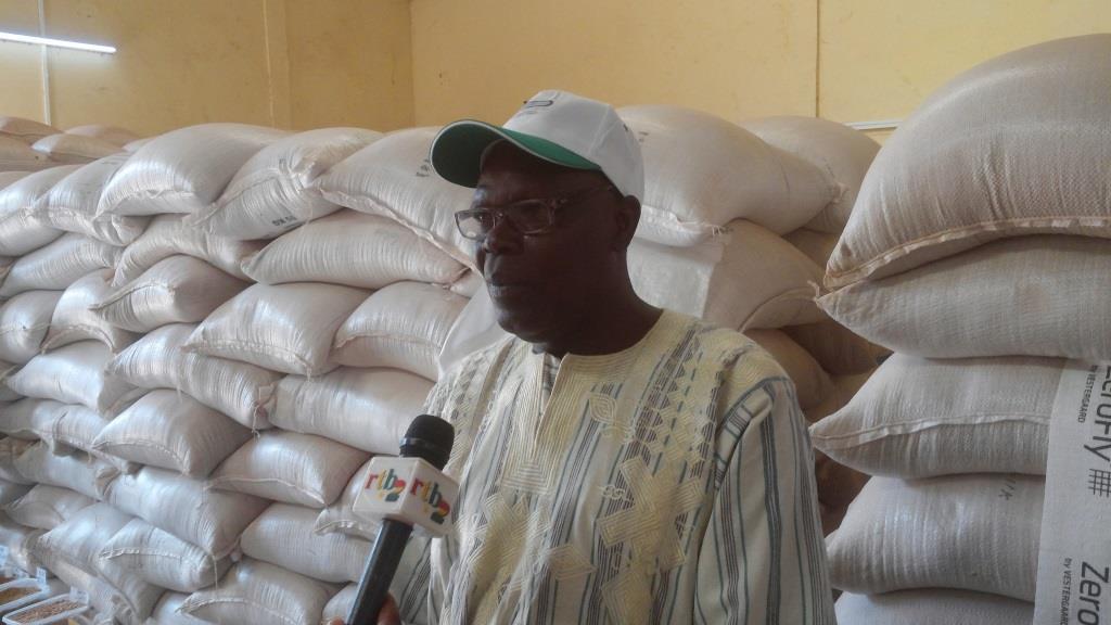 Idrissa Sawadogo, responsable technique de la société