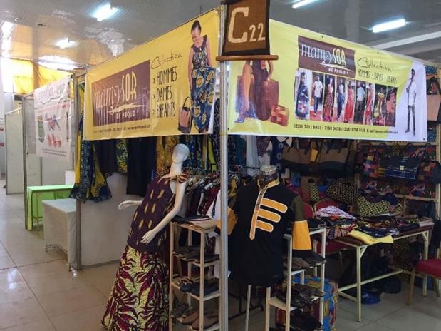 Le stand de Mamy Sor au SIAO 2016