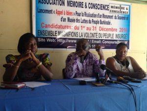 Ce projet est porté par un collège de 12 personnalités de la société civile burkinabè