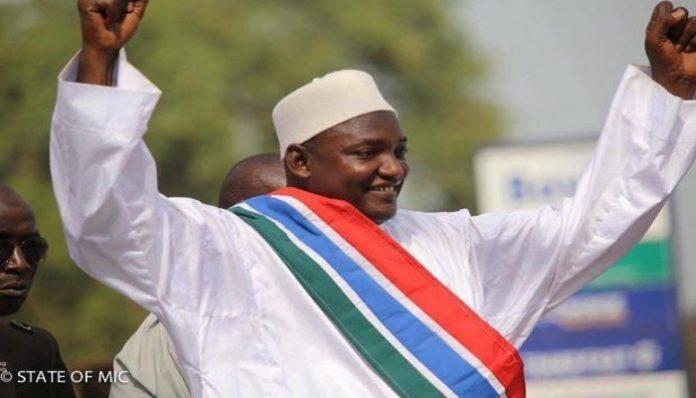 Adama Barrow, le nouveau président élu de la Gambie - DR
